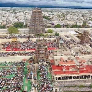 मीनाक्षी मंदिर मदुरै, तमिलनाडु
