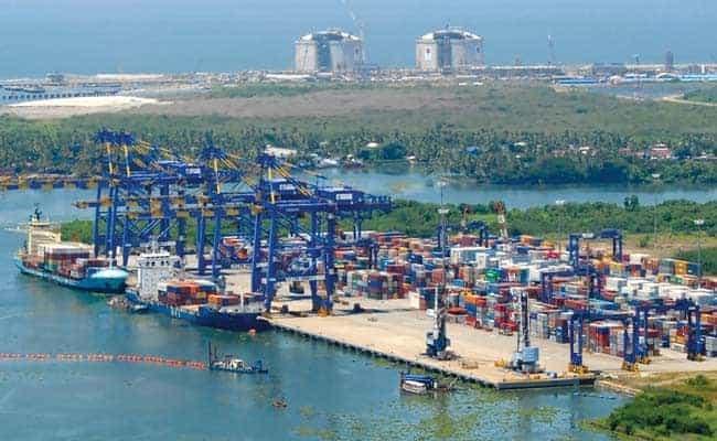 कोचीन बंदरगाह