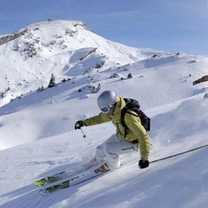Skiing - स्कीइंग
