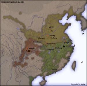 तीन राजशाहियों के युद्ध Three Kingdoms War